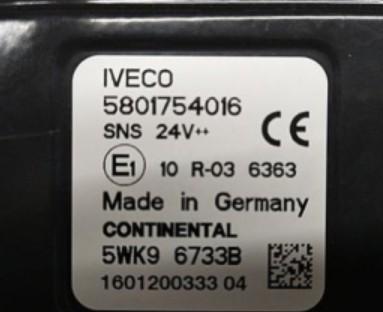 NOX sensor 5801754016